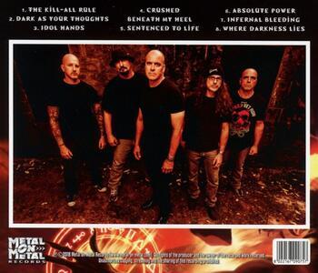 Idol Hands - CD Audio di Meliah Rage - 2