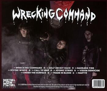 Wrecking Command - CD Audio di Meliah Rage - 2