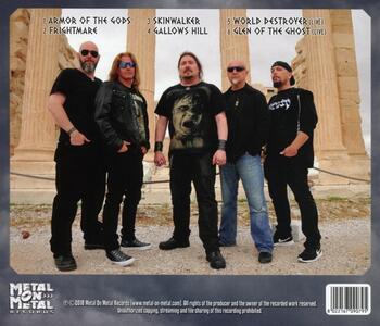 Armor of the Gods - CD Audio di Attacker - 2