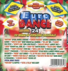 Eurodance 24 - CD Audio