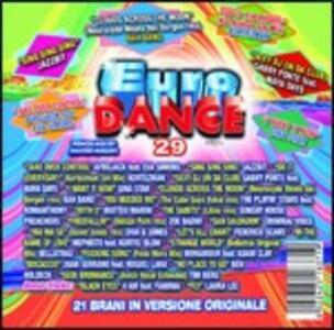 Eurodance 29 - CD Audio