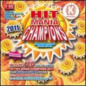 Hit Mania Champions 2011 - CD Audio