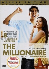 Cover Dvd The Millionaire