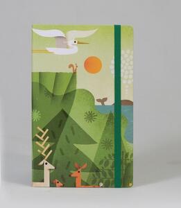 Cartoleria Taccuino a righe OpenWorld Natura Copertina Rigida Artist Edition - 13x21 cm Open Wor(l)ds