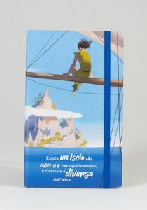 Cartoleria Taccuino a righe OpenWorld Lettura Copertina Rigida Peter Pan - 13x21 cm Open Wor(l)ds