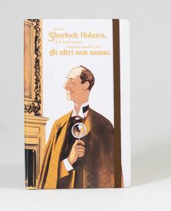 Cartoleria Taccuino a righe OpenWorld Lettura Copertina Rigida Sherlock Holmes - 13x21 cm Open Wor(l)ds