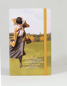 Cartoleria Taccuino a righe OpenWorld Lettura Copertina Rigida Piccole donne - 13x21 cm Open Wor(l)ds