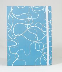 Cartoleria Taccuino puntinato OpenWorld Natura Copertina Rigida Acqua Azzurro - 13x21 cm Open Wor(l)ds