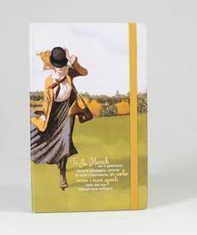 Taccuino a pagine bianche OpenWorld Lettura Copertina Rigida Piccole donne - 18,5x24,3 cm