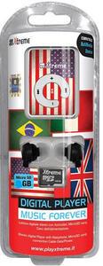 Lettore MP3 UK Flag Memory 8GB