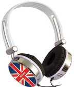 Idee regalo Cuffia Audio UK flag Xtreme Audio/Video