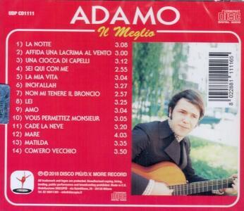 La notte - CD Audio di Adamo - 2