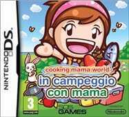 Videogiochi Nintendo DS Cooking Mama World Campeggio con Mama