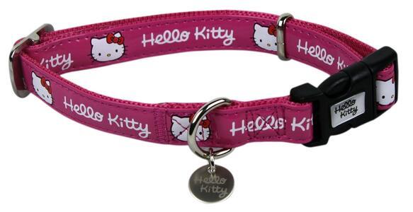Collare cane rosa Hello Kitty