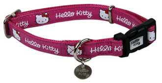 Idee regalo Collare cane rosa Hello Kitty Pampered