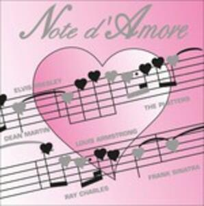 Note d'amore - CD Audio