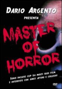 Dario Argento. Master of Horror di Luigi Cozzi - DVD