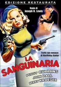 Cover Dvd sanguinaria (DVD)