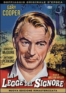 La legge del Signore di William Wyler - DVD