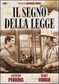 Cover Dvd Il segno della legge