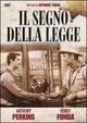 Cover Dvd DVD Il segno della legge