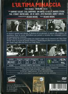 L' ultima minaccia di Richard Brooks - DVD - 2