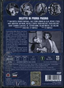 Delitto in prima pagina di Cy Baker Endfield - DVD - 2