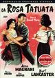 Cover Dvd DVD La rosa tatuata