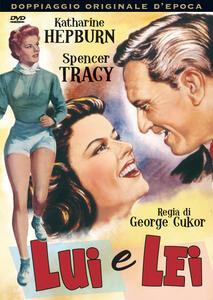 Lui e lei di George Cukor - DVD