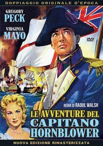 Le avventure del capitano Hornblower di Raoul Walsh - DVD