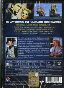 Le avventure del capitano Hornblower di Raoul Walsh - DVD - 2