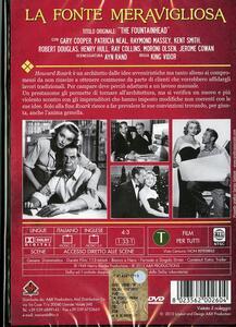 La fonte meravigliosa di King Vidor - DVD - 2