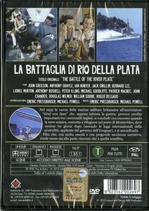 La battaglia di Rio della Plata di Michael Powell,Emeric Pressburger - DVD - 2