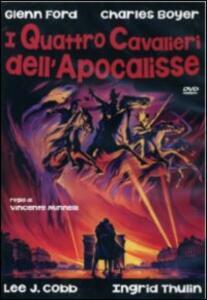 I quattro cavalieri dell'Apocalisse di Vincente Minnelli - DVD