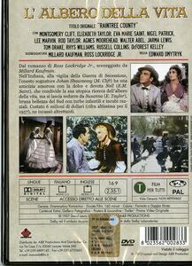 L' albero della vita di Edward Dmytryk - DVD - 2