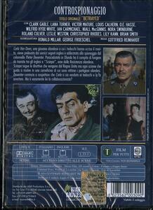 Controspionaggio di Gottfried Reinhardt - DVD - 2