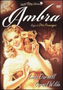 Ambra<span>.</span> Limited Edition di Otto Preminger - DVD