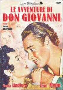 Le avventure di Don Giovanni<span>.</span> Limited Edition di Vincent Sherman - DVD