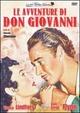 Cover Dvd DVD Le avventure di Don Giovanni
