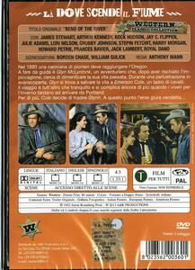 Là dove scende il fiume di Anthony Mann - DVD - 2