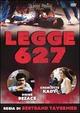 Cover Dvd Legge 627
