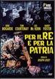 Cover Dvd DVD Per il re e per la patria