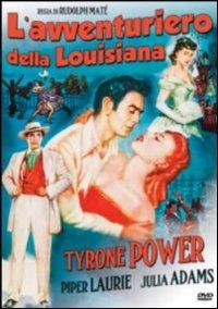 Locandina L'avventuriero della Louisiana