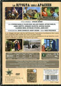 La rivolta degli Apaches di Hugo Fregonese - DVD - 2
