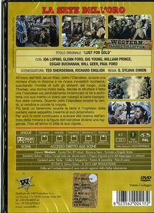 La sete dell'oro di S. Sylvan Simon - DVD - 2