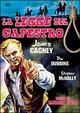 Cover Dvd La legge del capestro