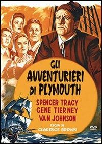 Cover Dvd Gli avventurieri di Plymouth