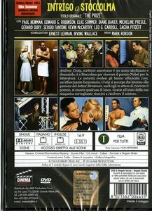 Intrigo a Stoccolma di Mark Robson - DVD - 2