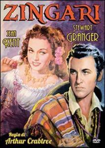 Zingari di Arthur Crabtree - DVD