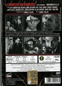 La vendetta del gangster di Samuel Fuller - DVD - 2